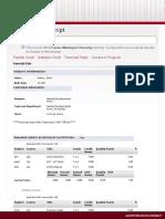 academic transcript pdf