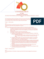 Constitution of the Vermilion Entente