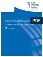Communications Stakeholder Engagement Strategy