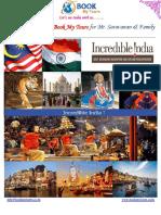 11N - 12Days Tours Varanasi - Allahabad - Khajuraho - Agra - Mathura - Delhi - Haridwar - Rishikesh - Delhi Tour for Mr. Saravanan & Family