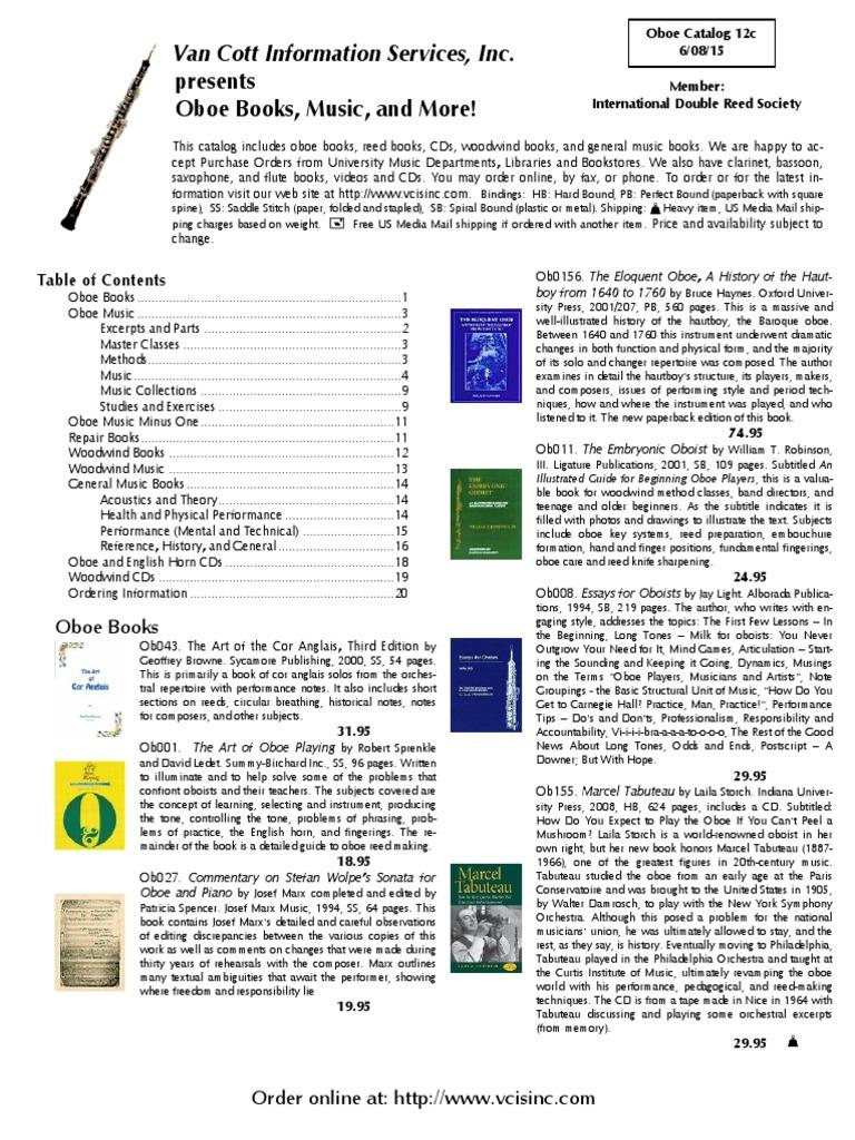 gekeler method for oboe bk 1