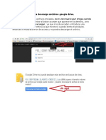 Guia Descarga Archivos Google Drive
