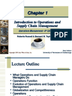 Introduction to Operations andSupply Chain Management