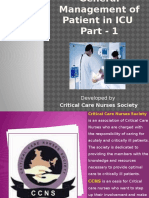 General Management of Patient in ICU - PART 1 - Medical Correction - 17-3-15