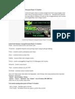 Cheat Plants Vs Zombies.docx