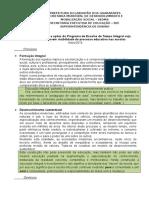 Princípios, Diretrizes e Ações das Escolas de Tempo Integral de Jaboatão dos Guararapes/PE/Brasil