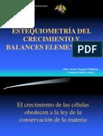 Laboratorio 5d - Estequiometría Del Crecimiento y Balances