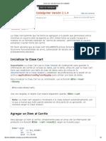 Clase Cart _ Guía Del Usuario de CodeIgniter