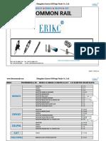 Common Rail Spare Parts List