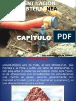 Ventilacion en Mineria Subterranea Cap i i