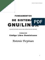 Fundamentos de sistemas GNU/LINUX