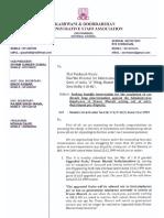 Letter to Shri Venkaiah Naidu on Pay Scales