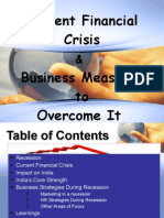 Business Strategies Durig Recession and Business Measures to Overcomr It