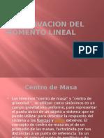 Conservacion Del Momento Lineal