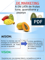CONSERVA en LATA de Frutas Surtido