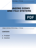 ISXP - Lab 03 Managing Disks and File System