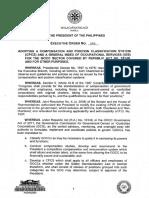 Executive Order No 203(1)