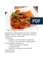 How to Make a Rendang