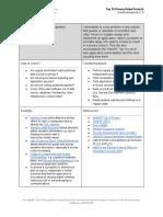 OWASP Top 10 Privacy Countermeasures v1.0