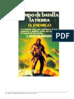Campo de Batalla La Tierra 1 El Enemigo - L Ron Hubbard