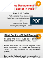 Logistics Steel Sector