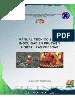 Manual Tecnico Inocuidad Frutas y Hortalizas
