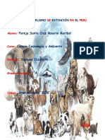 Animales en Peligro de Extincion en El Peru