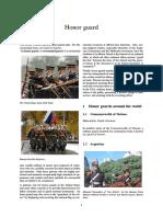 Unif Guard - Honor Guard