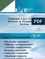 Customer Care Coaching - Papi Moroka