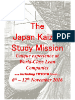 Japan kaizen study mission Nov2016-Incl Toyota Tour