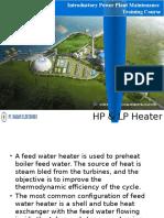 Feed water  heater manual