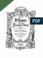 Chopin Klavierwerke Band 2 Peters Op.23