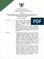 Keputusan Bupati Sukabumi Tentang RPZ Kawasan Konservasi Pantai Penyu Pangumbahan