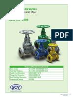 Globe valve brochure