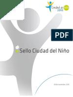 Texto Sello Fundacion Ciudad Del Nino