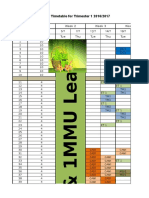 Delta Lab Timetable Tri1s1617 Ver2