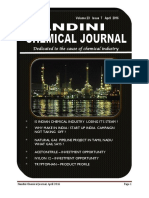 Nandini Chemical Journal April 2016 Issue