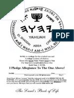 THE BESORAH OF YAHUSHA