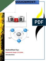 b2b Assignment