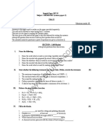 Icse Class 8 Chemistry Sample Paper Set 2
