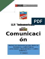 5º MATRIZ DE COMUNICACION 2016.doc