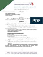 Programa Da Prova Específica de Português2013