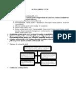 Schema       Actul Juridic Civil.doc