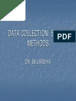 Data Collection Survey Methods