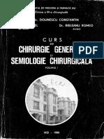 Curs de Chirurgie Generala-C.dolinescu-1980