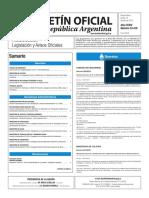 Boletín Oficial de la República Argentina, Número 33.418. 14 de julio de 2016