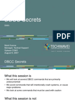Dbcc Secrets
