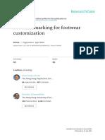 Foot Landmarking for Footwear Customization