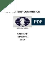 Arbiters Manual 2014