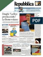 La Repubblica 22-01-2016 by Pds